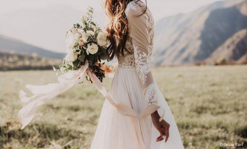 30 idées déco pour un mariage en nude