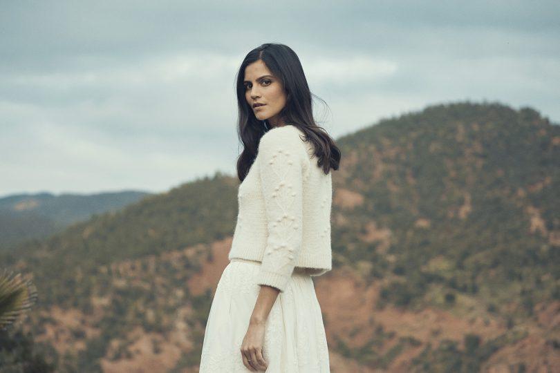 Laure de Sagazan - Collection maille 2019 - La mariée aux pieds nus
