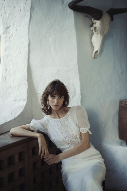 Laure de Sagazan - Robes de mariée - Collection 2021 - Photos : Laurent Nivalle - Blog mariage : La mariée aux pieds nus
