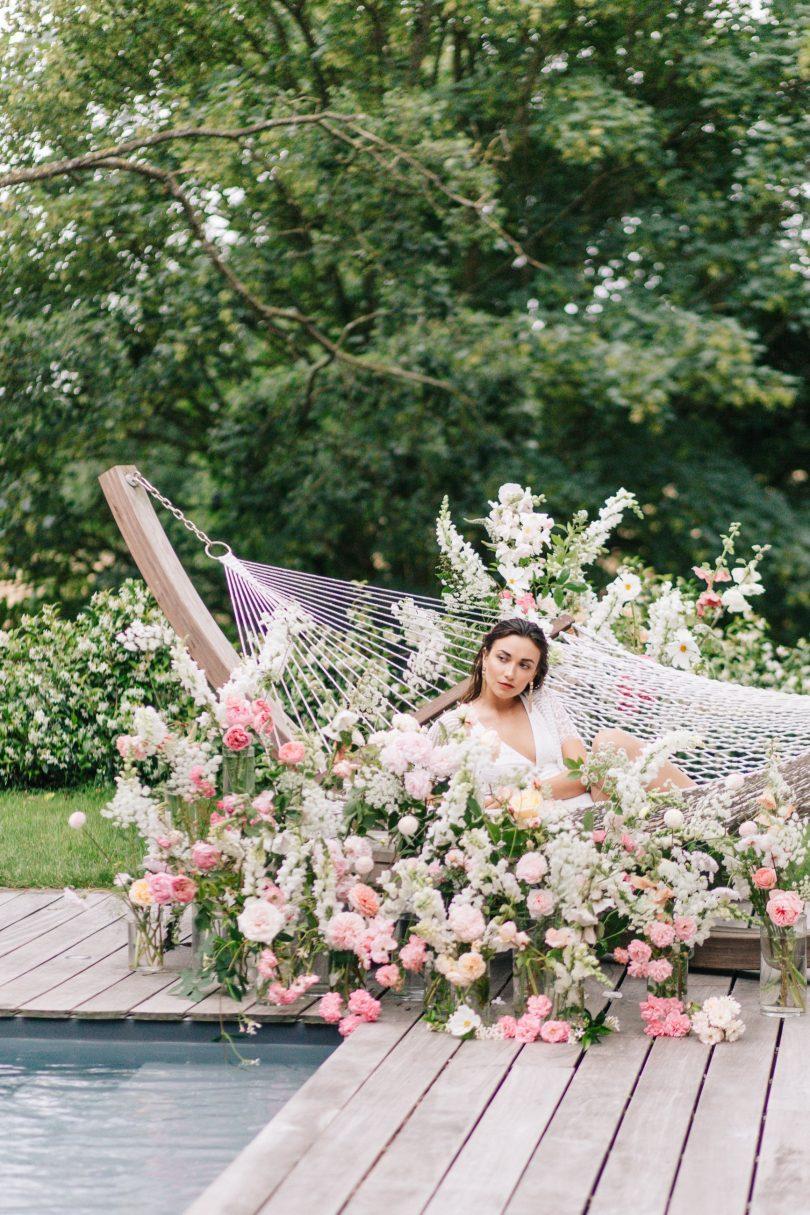 Édito : Lendemain de mariage fleuri au Château de La Ballue en Bretagne - Crédits photos : Amandine Ropars - Blog mariage : La mariée aux pieds nus