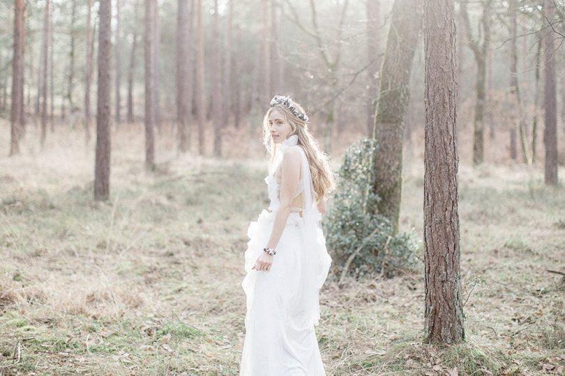 Les couronnes de Victoire - Accessoires de mariée - Collection Forêt enchantée - Blog mariage : La mariée aux pieds nus