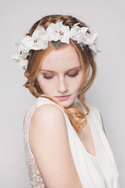 Les Dormeuses de Madapolam - Accessoires de mariée - A découvrir sur le blog mariage www.lamarieeauxpiedsnus.com - Photos : Fanny Dussol