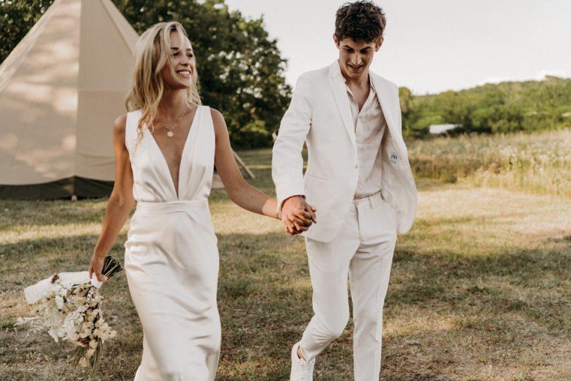 Un mariage nomade chic - Photos : Lorenzo Accardi - Blog mariage : La mariée aux pieds nus.