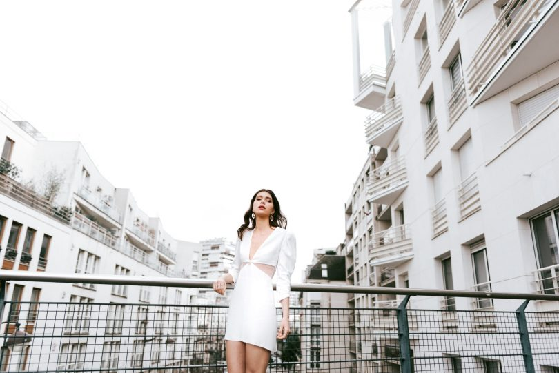 Mademoiselle de Guise - La robe Ludmila - Mariage civil - Photos : Chloé Lapeyssonnie - Blog mariage : La mariée aux pieds nus