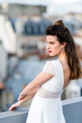 Mademoiselle de Guise - Robes de mariée - Collection Mariage civil - 2017 - A découvrir sur le blog mariage www.lamarieeauxpiedsnus.com - Photos : Vincent Nageotte