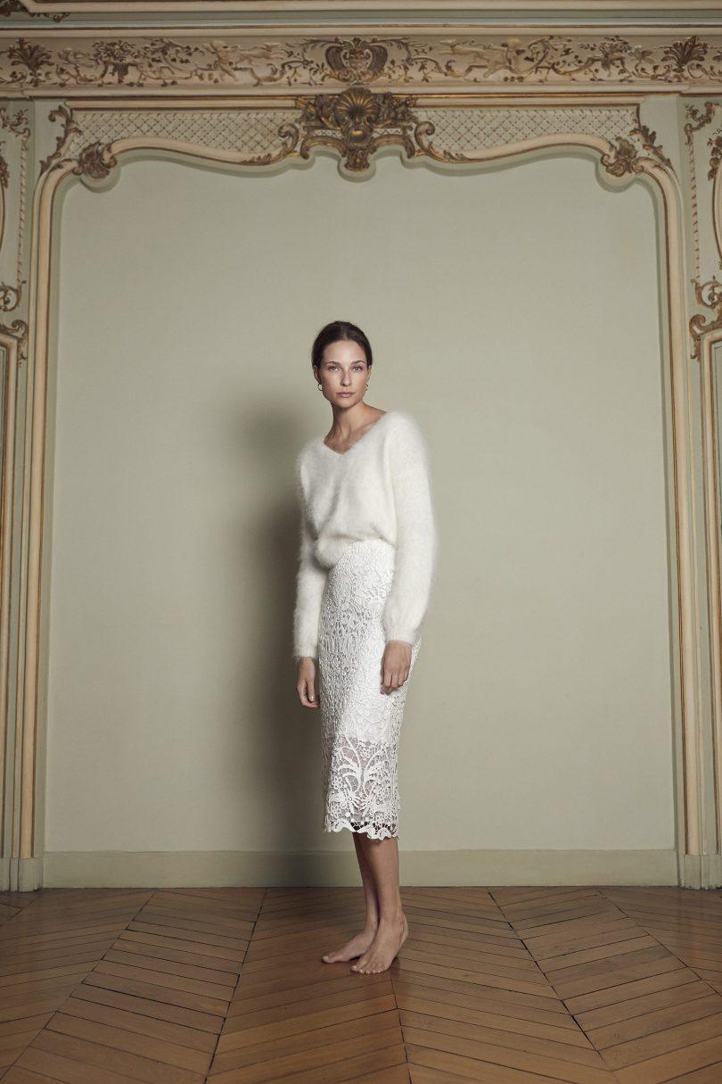 Margaux Tardits - Robes de mariée - Collection 2020 - Blog mariag : La mariée aux pieds nus