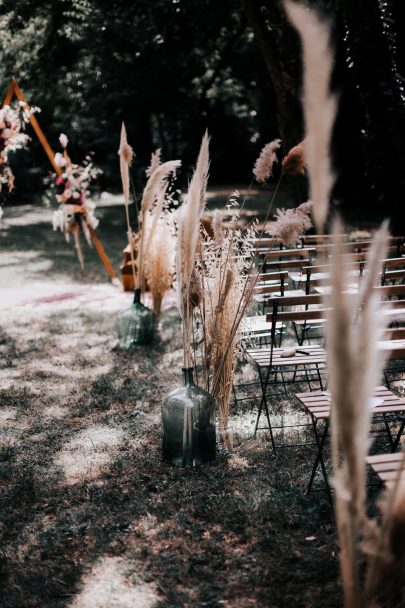 Un mariage bohème au Domaine Le Taleur - Photos : Delphine Closse - Blog mariage : La mariée aux pieds nus