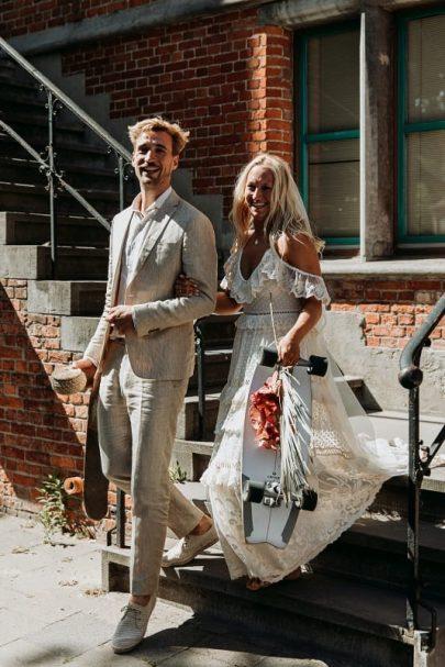 Un mariage bohème et intime en Belgique - Photos : Kaat de Malsche - Blog mariage : La mariée aux pieds nus