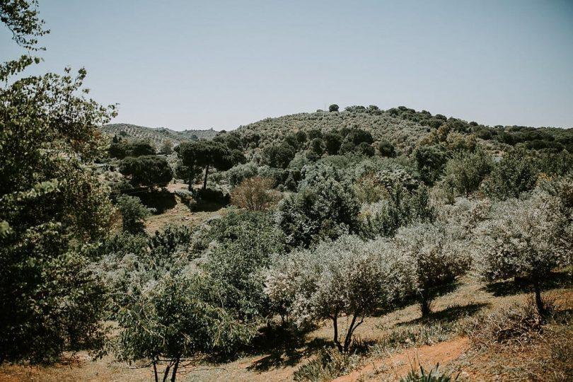 Un mariage simple et naturel en Andalousie
