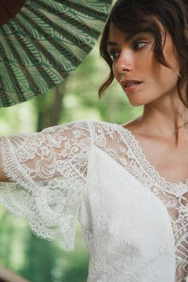Mathilde Marie - Robes de mariée - Collection 2019 - La mariée aux pieds nus