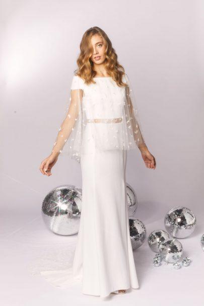 Meryl suissa - robes de mariée - Collection 2020 - Blog mariage : La mariée aux pieds nus