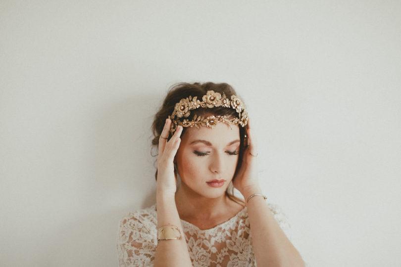 Mignonne Handmade - Accessoires de tête pour la mariée - A découvrir sur le blog mariage www.lamarieeauxpiedsnus.com