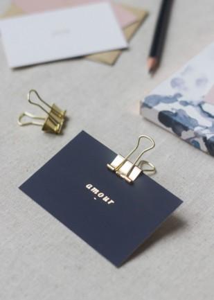 DiY : Des cartes à souhaits pour votre livre d'or avec Moo - A découvrir sur le blog mariage www.lamarieeauxpiedsnus.com