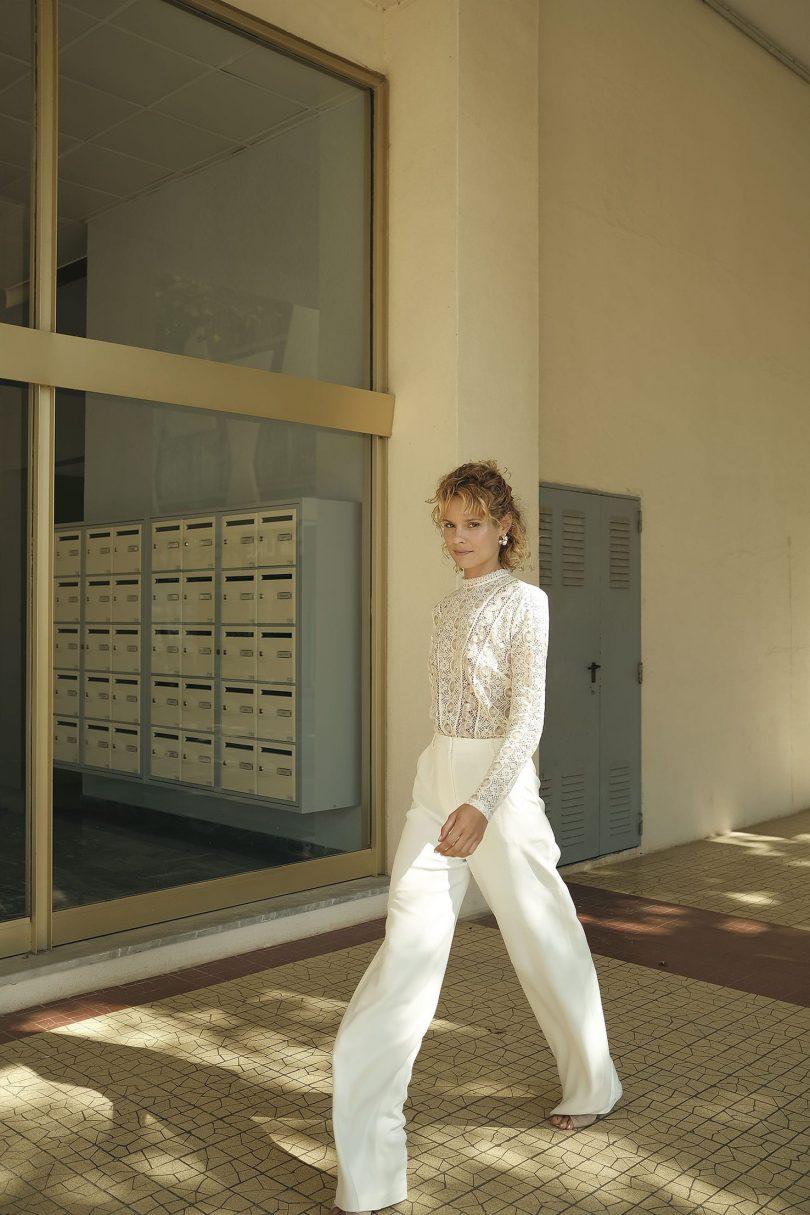 Olympe - Robes de mariée - Collection 2020 - Photos : Soulpics - Blog mariage : La mariée aux pieds nus
