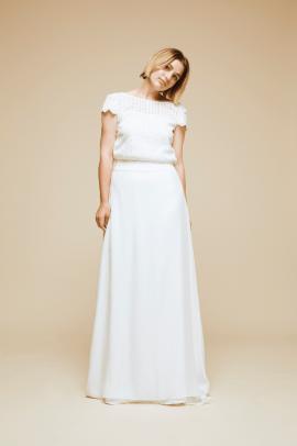 Pandore - Robe de mariée - Blog mariage : La mariée aux pieds nus