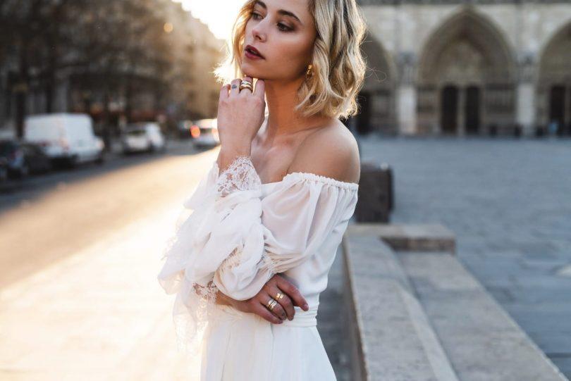 Harpe - Robes de mariée - Collection 2019 - Blog mariage : La mariée aux pieds nus