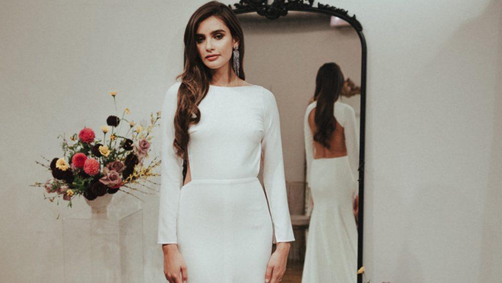 Une robe de mariée simple et épurée comme Meghan Markle - Blog mariage : La mariée aux pieds nus