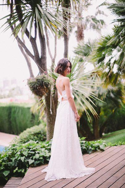 Christina Sfez - Robes de mariée - Collection 2019 - La mariée aux pieds nus