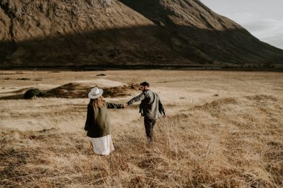 Une séance engagement en Ecosse - Photographe : Dorothée Buteau - Blog mariage : La mariée aux pieds nus