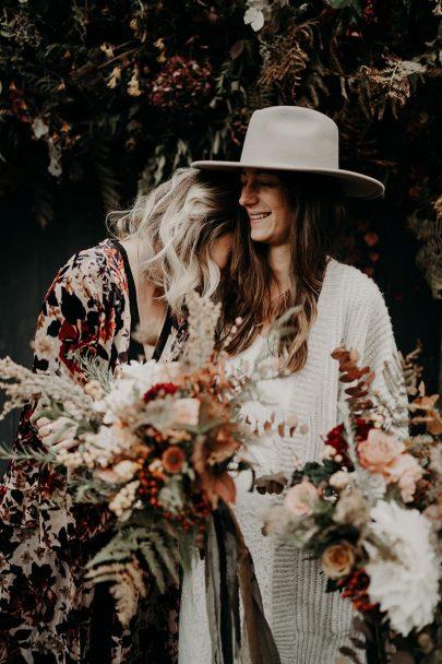 Un mariage aux Gites du Berger en Auvergne aux Gites du Berger en Automne - Photos et Vidéo : The Quirky - Blog mariage : La mariée aux pieds nus