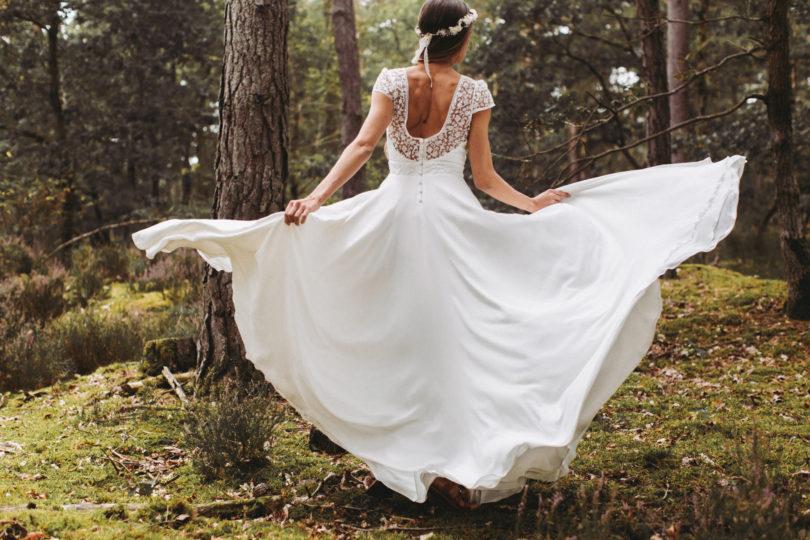 La mariée aux pieds nus - Lorafolk - Robes de mariée - Collection 2017 - Modele Ania
