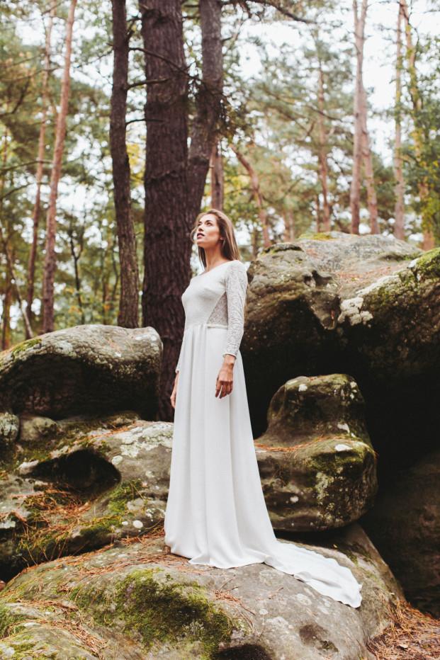 La mariée aux pieds nus - Lorafolk - Robes de mariée - Collection 2017 - Modele Anouk