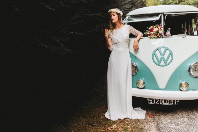 La mariée aux pieds nus - Lorafolk - Robes de mariée - Collection 2017 - Modele Darin
