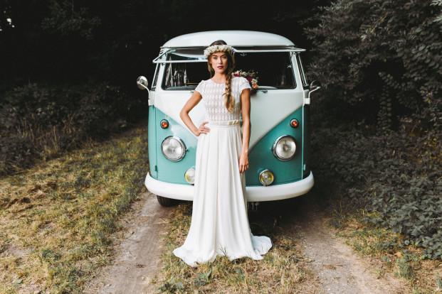 La mariée aux pieds nus - Lorafolk - Robes de mariée - Collection 2017 - Modele Eda
