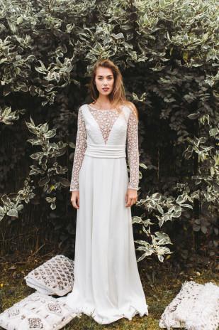 La mariée aux pieds nus - Lorafolk - Robes de mariée - Collection 2017 - Modele Emil