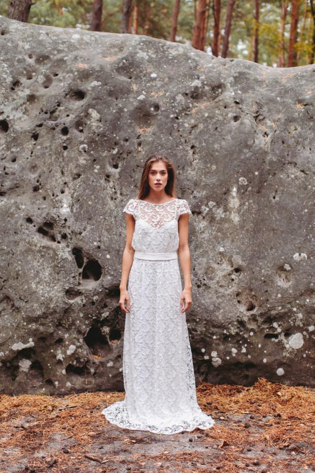 La mariée aux pieds nus - Lorafolk - Robes de mariée - Collection 2017 - Modele Ivone