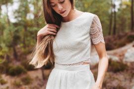 La mariée aux pieds nus - Lorafolk - Robes de mariée - Collection 2017 - Modele Milo et Anica