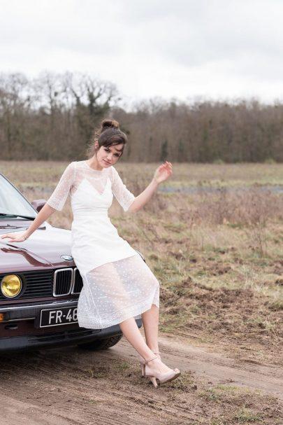 L'Amusée Paris - Robes de mariée - Collection 2021 - Blog mariage : La mariée aux pieds nus