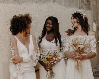 Acheter une robe de mariée de seconde main avec le dépôt vente La Sève - Blog mariage : La mariée aux pieds nus