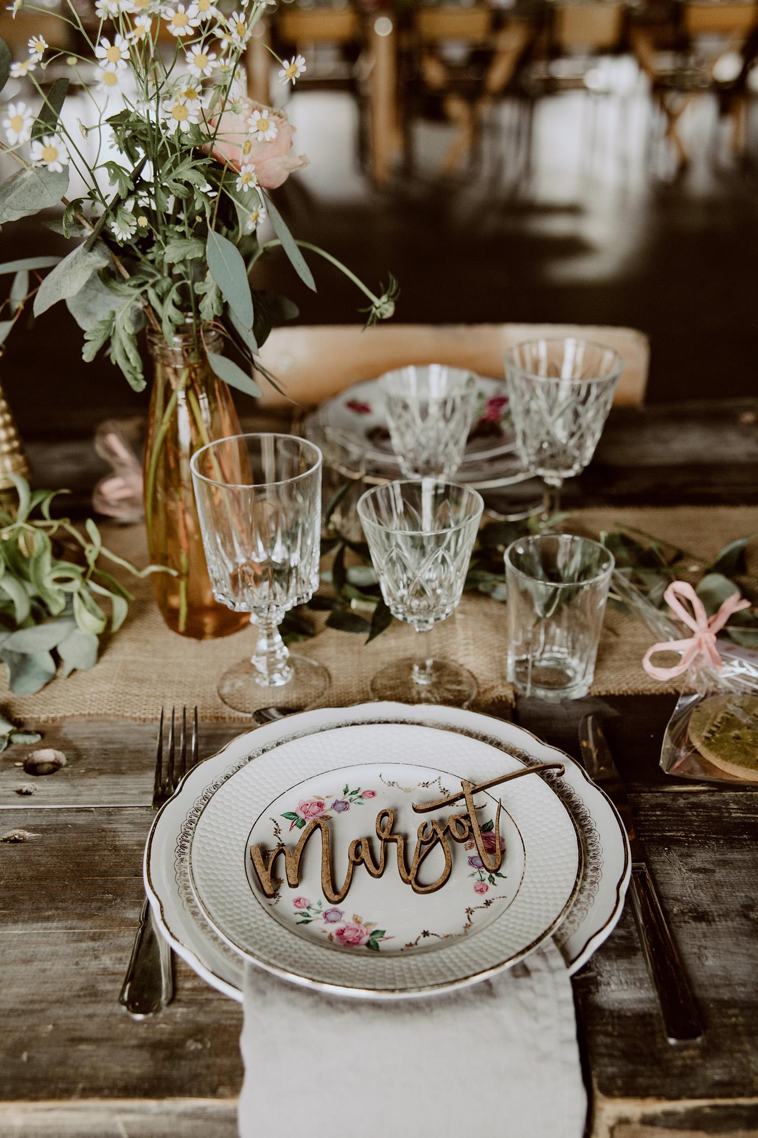 Les Mignonneries - Décoration - La mariée aux pieds nus