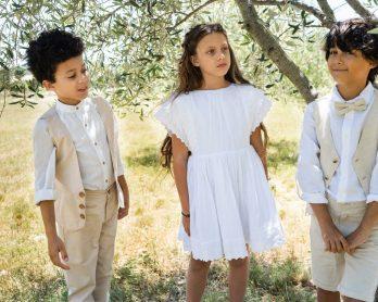 Les petits inclassables - Tenues de cortège pour votre mariage - Collection 2020 - Blog mariage : La mariée aux pieds nus