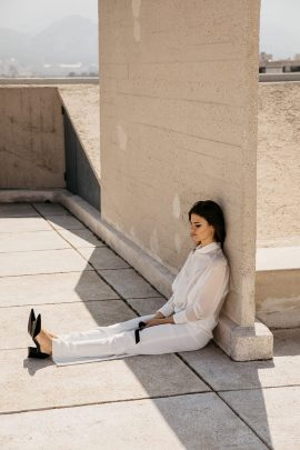 Un mariage minimaliste - Photos : Lifestories Wedding - Blog mariage : La mariée aux pieds nus