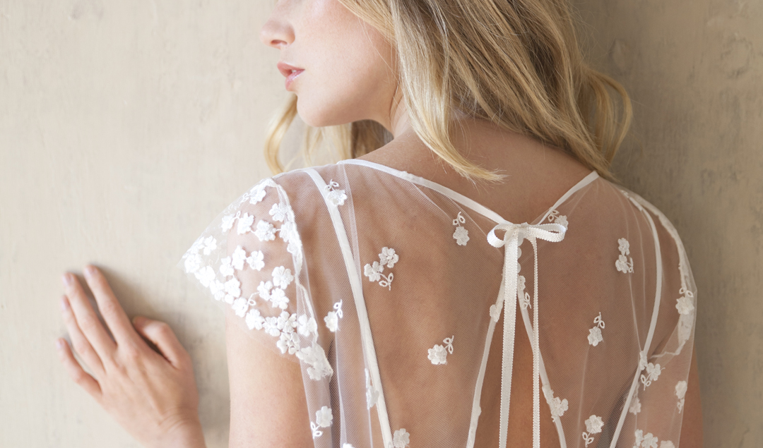 Lila de Saint Louis - Robes de mariée - Collection 2018 - Blog mariage : La mariée aux pieds nus