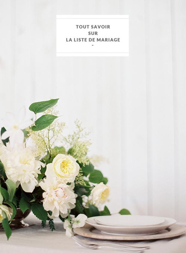 Tout savoir sur la liste de mariage - Des conseils à découvrir sur le blog mariage La mariée aux pieds nus - Photos : Lauren Peele