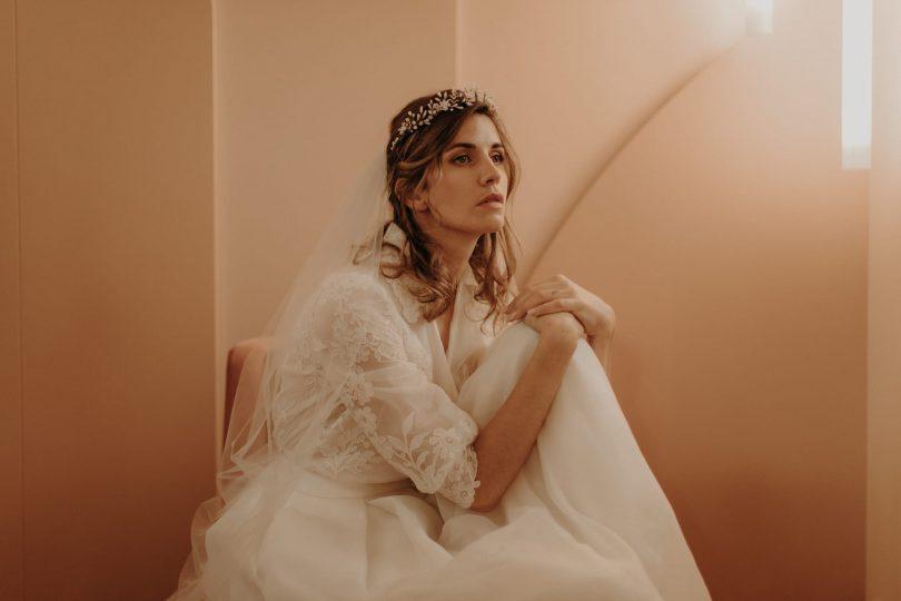 Lizeron - Accessoires de mariée - Collection 2021 - Photos : Baptiste Hauville - Blog mariage : La mariée aux pieds nus