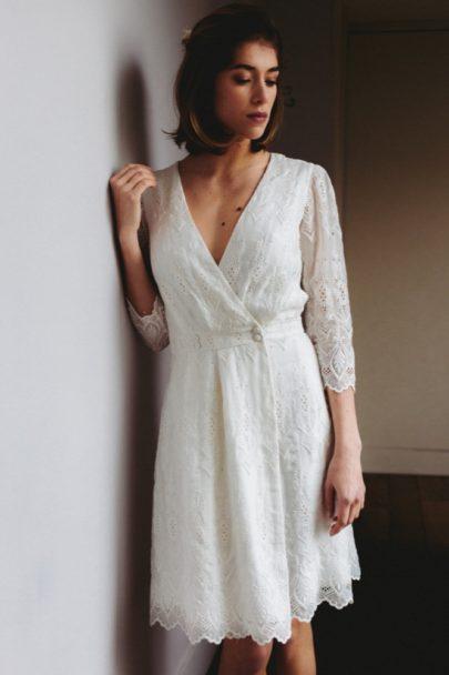 LORAFOLK - Robe de mariée - Collection mariage civil - A découvrir sur le blog mariage www.lamarieeauxpiedsnus.com - Photos : Laurence Revol
