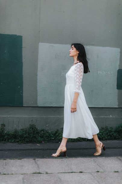 Lorafolk - Robes de mariée - Collection Prêt à marier - Photos : Laurence Revol - Blog mariage : La mariée aux pieds nus