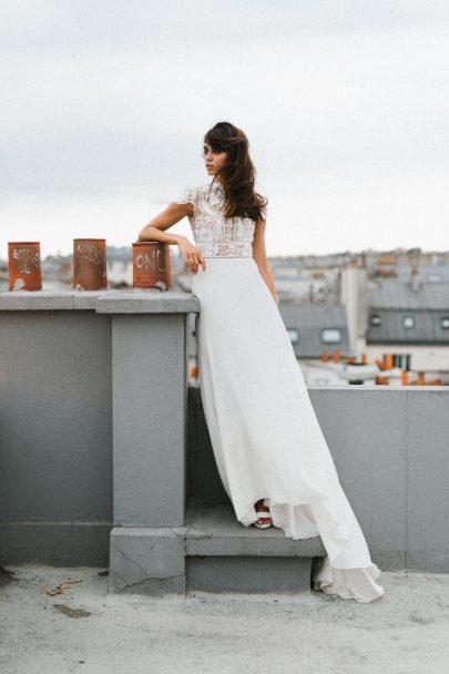 Mademoiselle de Guise - Robes de mariée - Collection 2021 - Photos : Chloé Lapeysonnie - Blog mariage : La mariée aux pieds nus