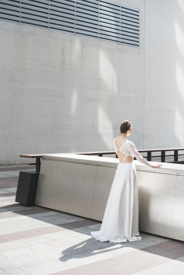 Mademoiselle de Guise - Robe de mariée - Collection 2017 - A découvrir sur le blog mariage www.lamarieeauxpiedsnus.com - Modele : Camélia