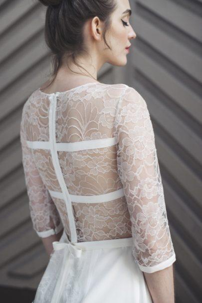 Mademoiselle de Guise - Robe de mariée - Collection 2017 - A découvrir sur le blog mariage www.lamarieeauxpiedsnus.com - Modele : Isadora