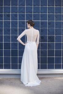 Mademoiselle de Guise - Robe de mariée - Collection 2017 - A découvrir sur le blog mariage www.lamarieeauxpiedsnus.com - Modele : Julia