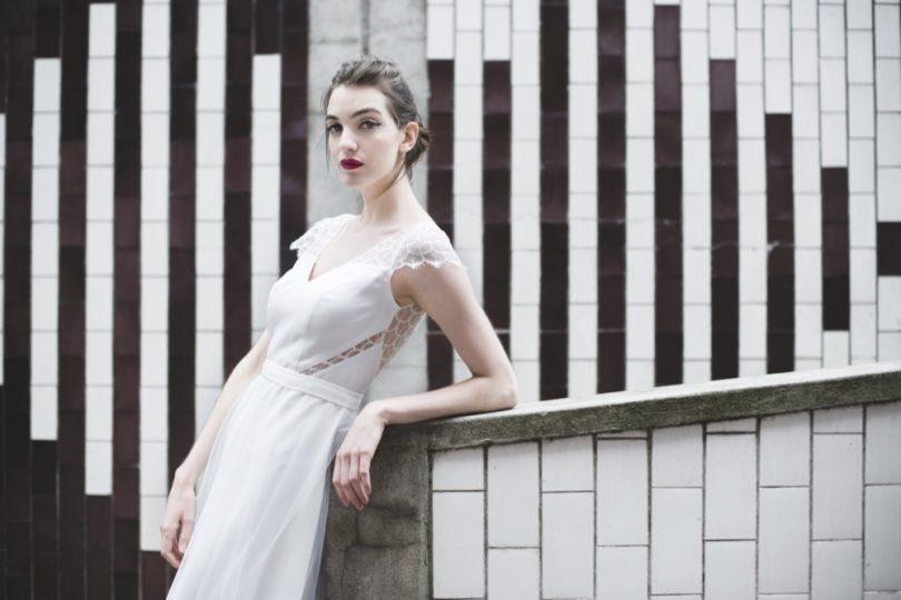 Mademoiselle de Guise - Robe de mariée - Collection 2017 - A découvrir sur le blog mariage www.lamarieeauxpiedsnus.com - Modele : Mai