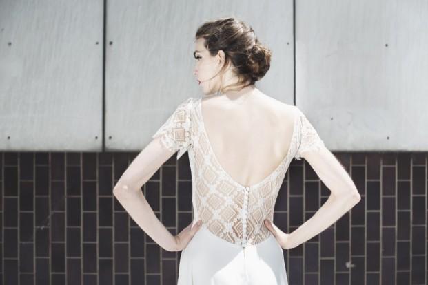 Mademoiselle de Guise - Robe de mariée - Collection 2017 - A découvrir sur le blog mariage www.lamarieeauxpiedsnus.com - Modele : Marine