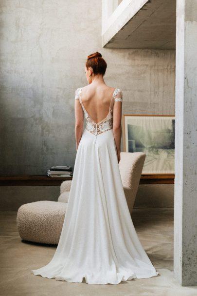 Mademoiselle de Guise - Robes de mariée - Collection 2022 - Photos : Chloé Lapeyssonnie - Blog mariage : La mariée aux pieds nus