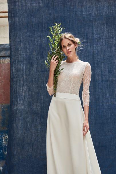 Maison Floret - Robes de mariée - Collection 2018 - Blog mariage : La mariée aux pieds nus