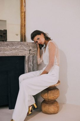 Maison Floret - Robes de mariée - Collection 2022 - Blog mariage : La mariée aux pieds nus